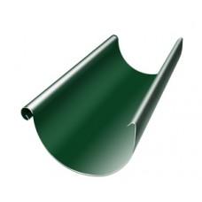 Желоб полукруглый Grand Line, 125мм, 3м, RAL 6005 зеленый