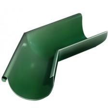 Угол желоба внешний 135 гр.D125мм Grand Line, RAL 6005 зеленый