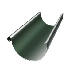 Желоб полукруглый Grand Line, 125мм, 3м, RR 11 (зеленый)