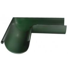 Угол желоба внешний 90 гр.D125мм Grand Line, RR 11 (зеленый)