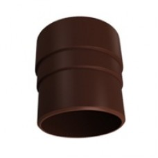 Муфта трубы Vinylon Кофе, Д-90мм