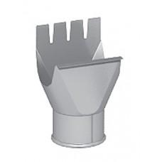 Воронка выпускная (приемник воды) Престиж белый D125/100