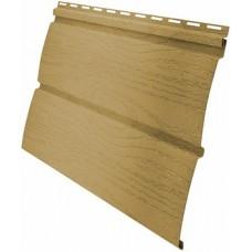 Сайдинг панель виниловый Блок-хаус Grand Line бежевый -3,0