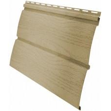 Сайдинг панель виниловый Блок-хаус Grand Line Ваниль -3,0