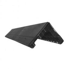 Аэратор коньковый Docke 1м (черный)