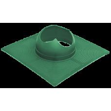 Krovent Base-VT основание вентиляционной трубы под Гибкую черепицу зеленый (RAL 6005 )