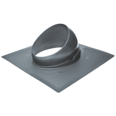 Krovent Base-VT 125-150 основание вентиляционной трубы под Гибкую черепицу серый (RAL 7024)