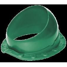 Krovent Base-VT Wave 125-150 основание вентиляционной трубы для металлочерепицы зеленый (RAL 6005)