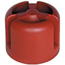 Krovent HupCap колпак на трубу кровельный красный (RAL 3009)