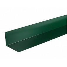 Ендова верхняя п/э 0,5 сталь 6005 зеленый Н6 - 2м