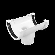 Водосток FineBer Воронка желоба D80 Белый