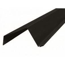 Ветровая широкая 95х70 МП 0,5 ст. Valory RAL 7024 - 2м