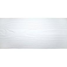 Сайдинг фиброцементный Cedral Click Wood 3600x186x12 mm C01 Белый минерал