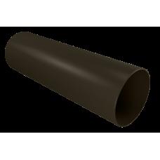 Водосток Винилон. Труба водосточная пластиковая 3м. Венге, Д-90мм