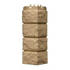 Наружный угол Grand Line Standart Колотый камень Песочный 0,12х0,39