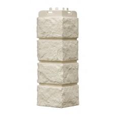 Наружный угол Grand Line Standart Колотый камень Молочный 0,12х0,39