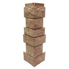 """Угол наружный для фасадной панели Nordside Северный камень """"Терракотовый"""" 0,139х0,463"""