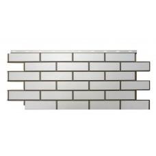 """Фасадная панель Nordside Гладкий кирпич """"Белый"""""""