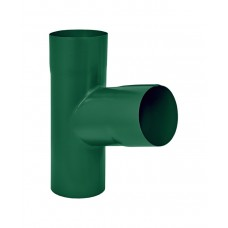 Тройник Аквасистем RAL 6005 (Зеленый) 90/125