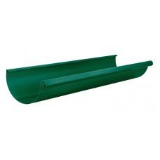 Желоб водосточный 3 м Аквасистем RAL 6005 (Зеленый мох) 100/150