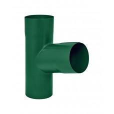Тройник Аквасистем RAL 6005 (Зеленый мох) 100/150